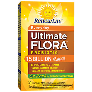 Renew Life Ultimate Flora Go Pack 15 Billion 30S