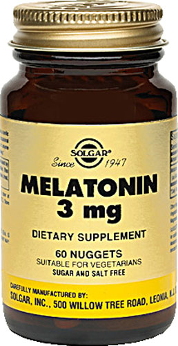 Solgar Melatonin 3Mg 60Nuggets