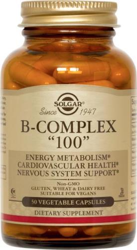 Solgar Vitamin B Complex 100Caps