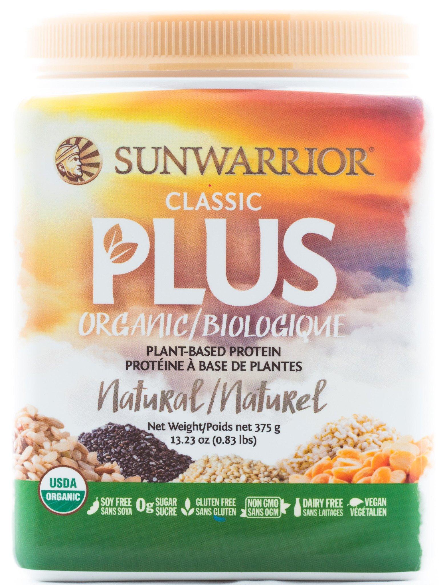 Sunwarrior Classic Plus Organic Natural 375G