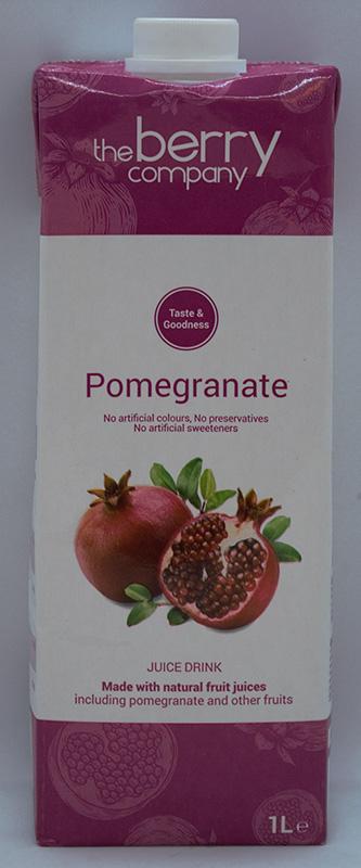 Tbc Pomegrante Ambient Juice Drink 1Ltr