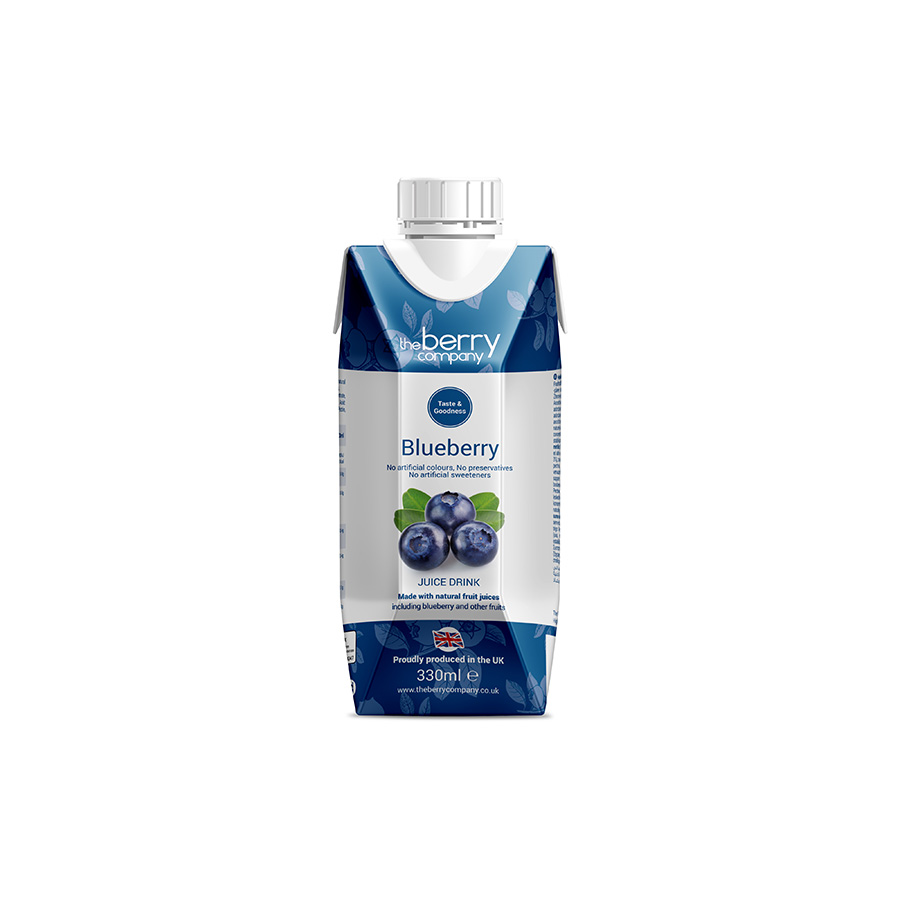 Tbc Blue Berry Juice330Ml