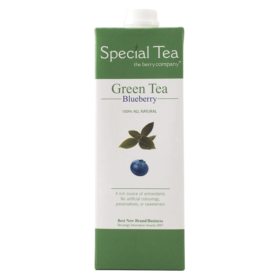 Tbc Green Tea Bberry Juice Drink 1Ltr