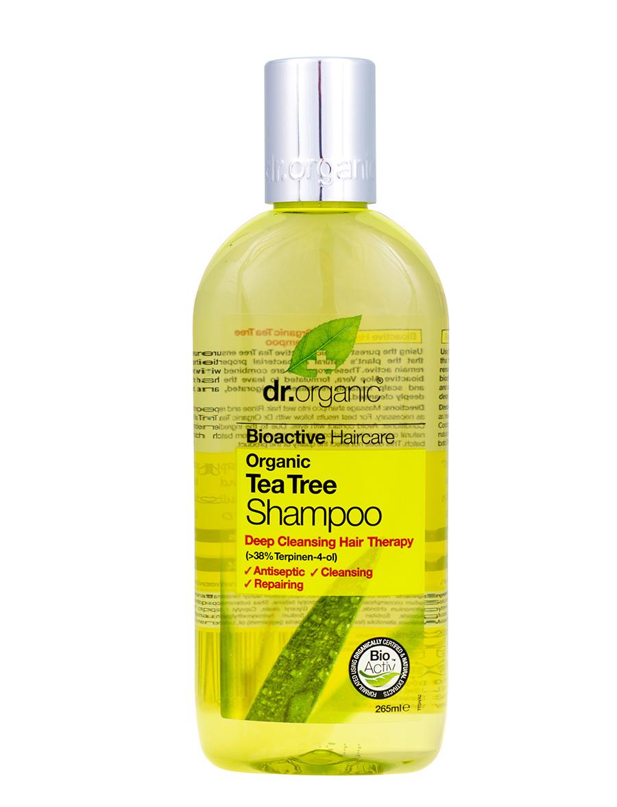 Dr Organic Tea Tree Hair Shampoo 265Ml