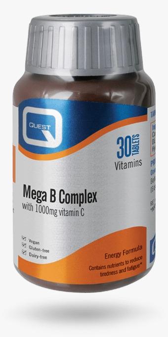 Quest Mega B Complex &C 30S