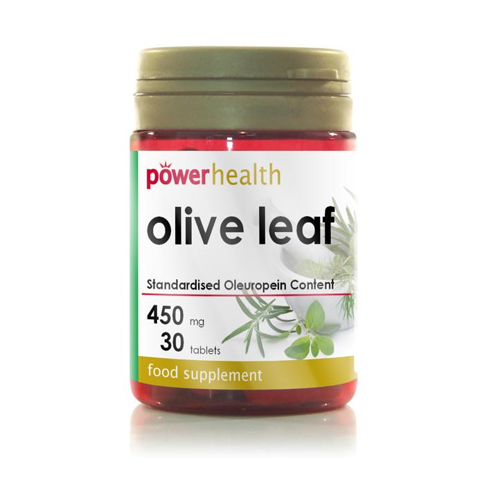 Power H Olive Leaf Ext.450G 30S