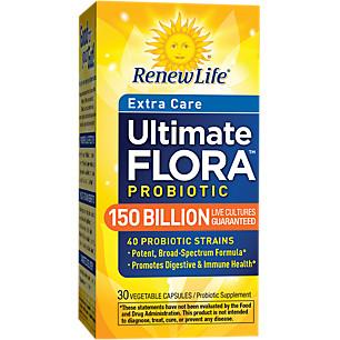 Renew Life Ultimate Flora Extra Care 150 Billion 30S
