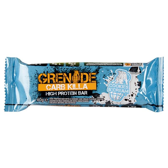 Grenade Carb Killa High Prot. Bar Cookies & Cream 60G