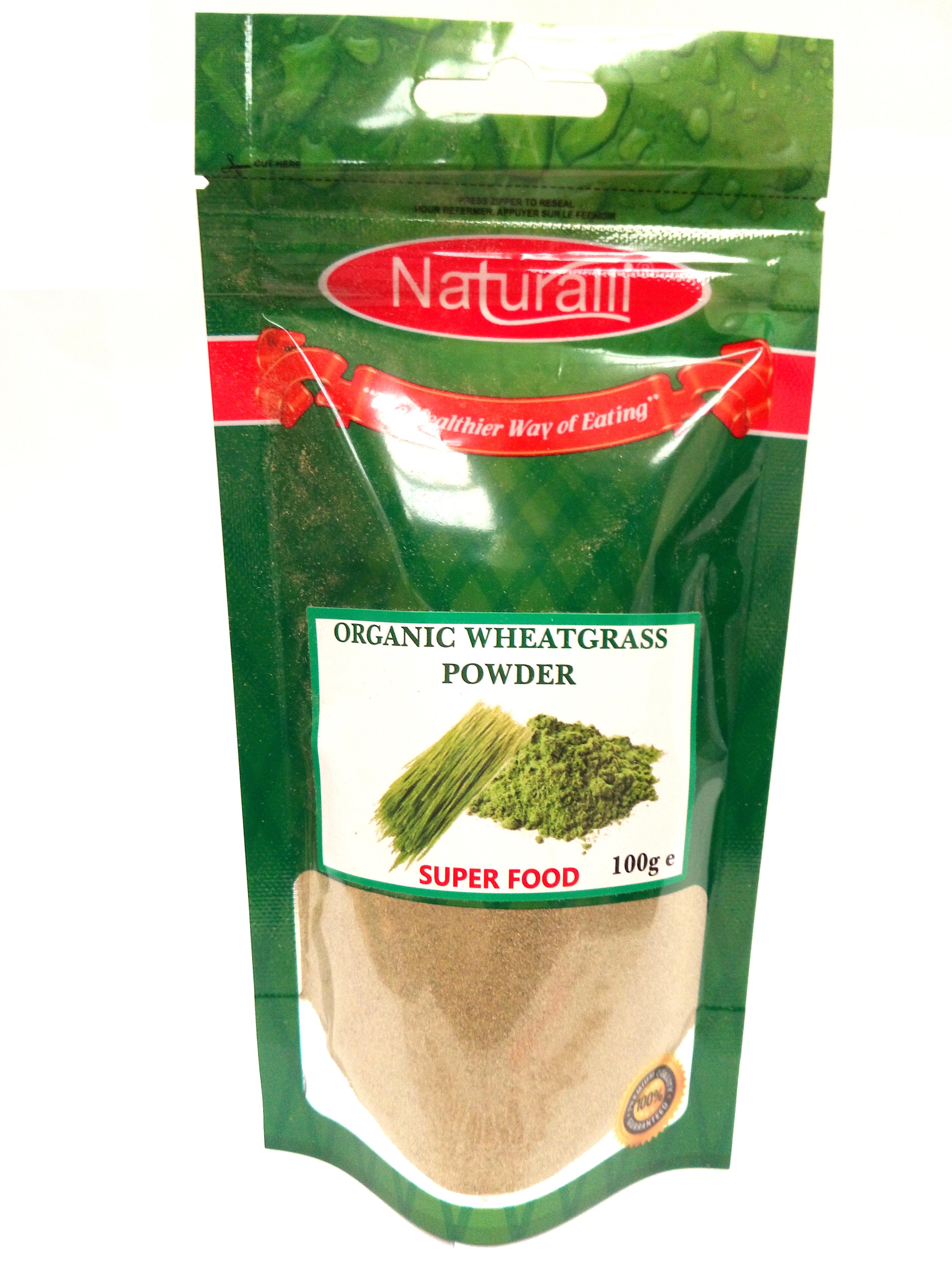 Naturalli Organic Wheat Grass Powder 100G