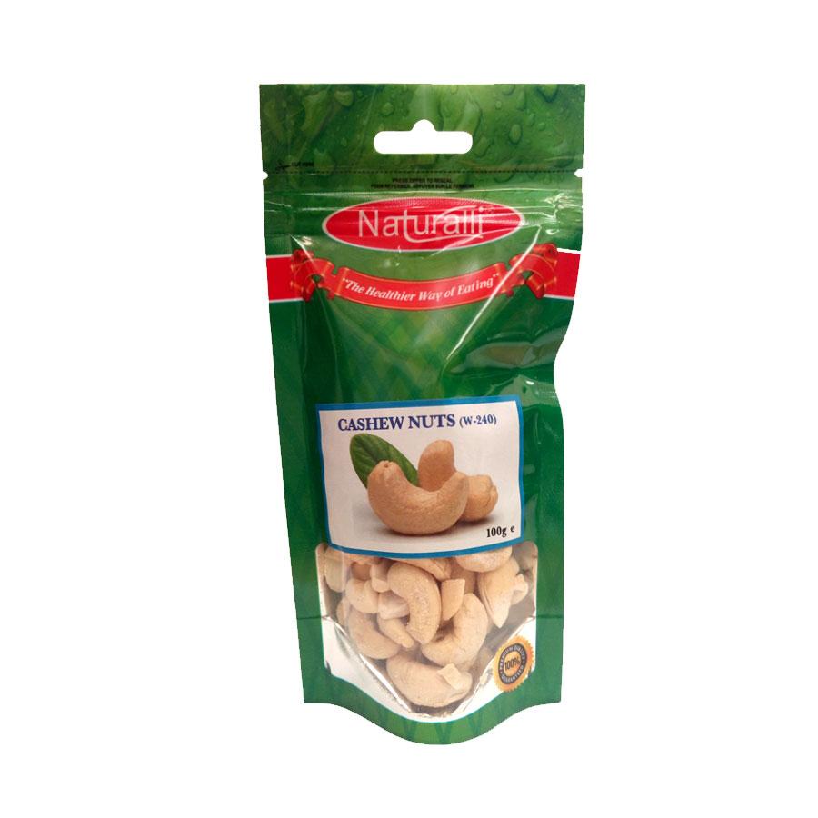 Naturalli Cashewnuts W-240 100G