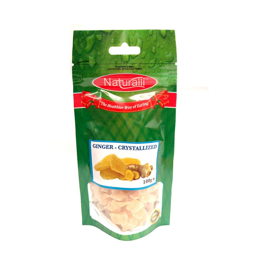 Naturalli Crystallized Ginger 100G