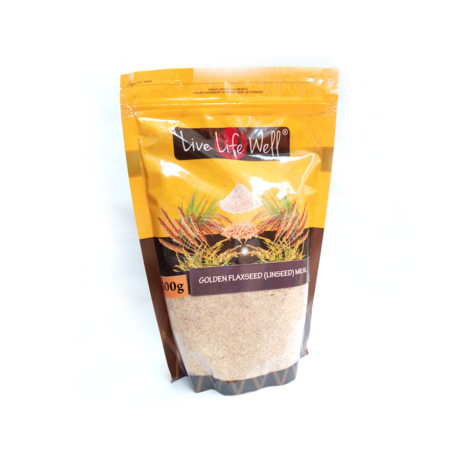 Live Life W Golden Flaxseed (Linseed) Meal 500Gm