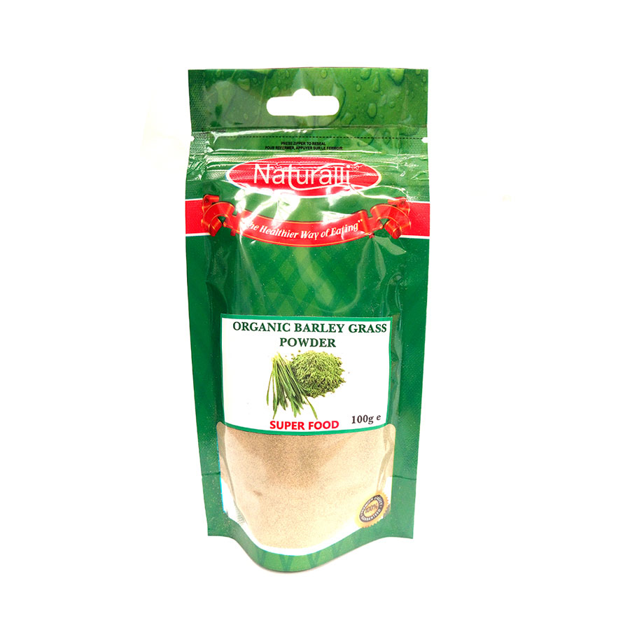 Naturalli Organic Barley Grass Powder 100G