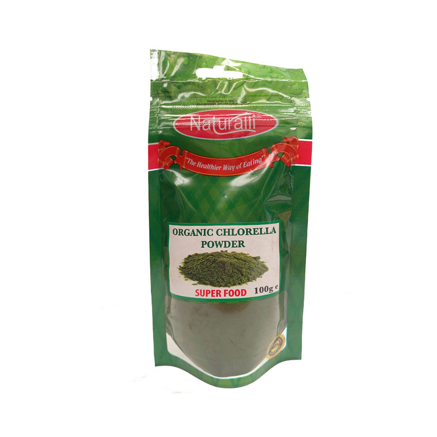 Naturalli Organic Chlorella Powder 100Gm