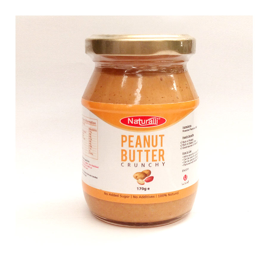 Naturalli Peanut Butter 170G
