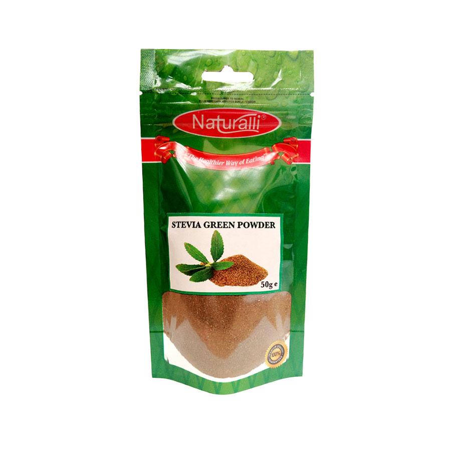 Naturalli Stevia Green Powder 50Gm