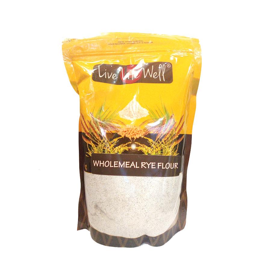 Live Life W Wholemeal (Dark) Rye Flour 750Gm