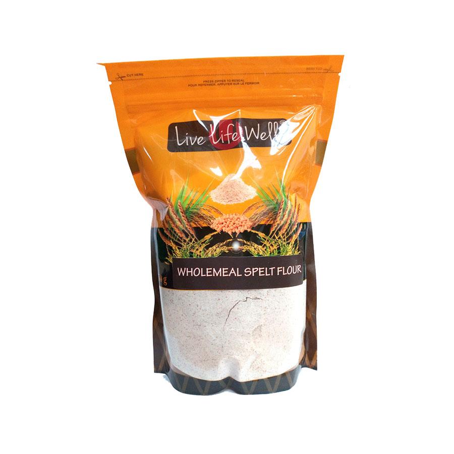 Live Life W Wholemeal Spelt Flour 750Gm