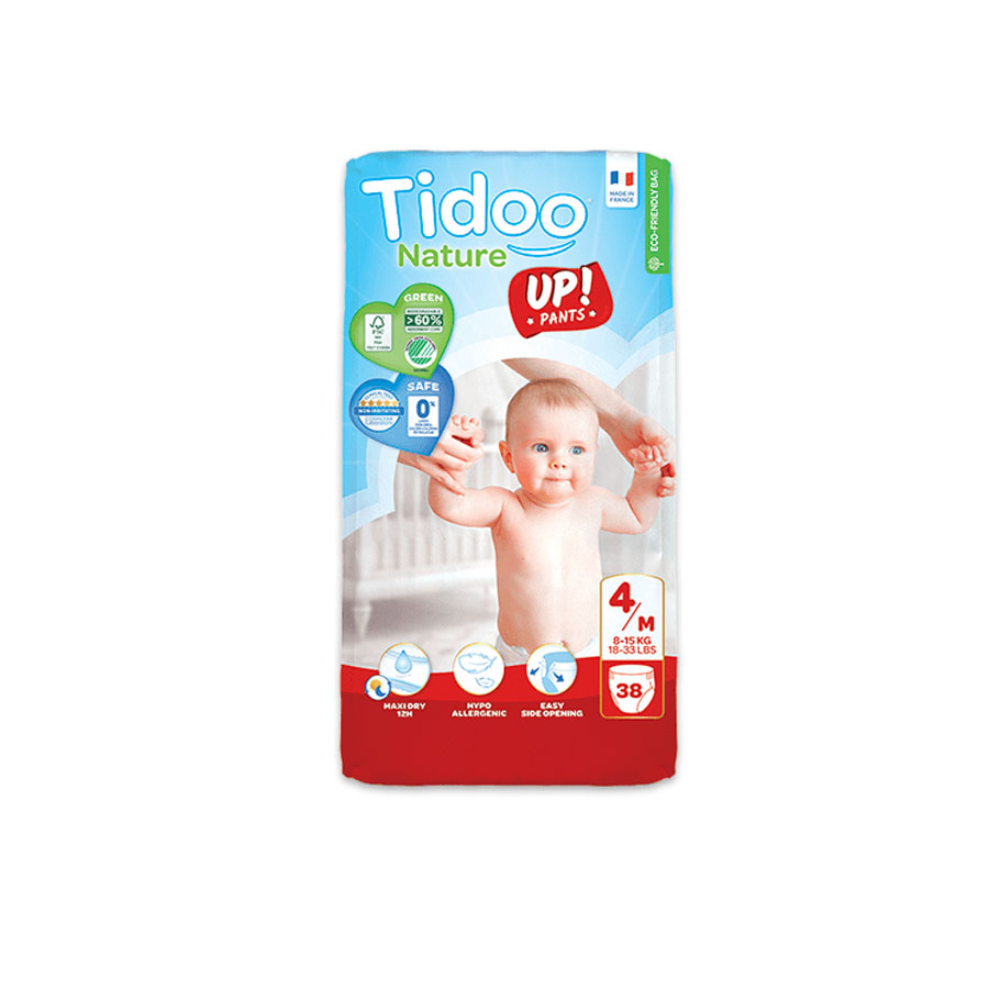Tidoo Nature New Born Diapers 6/Xxl 16-30Kg 18'S