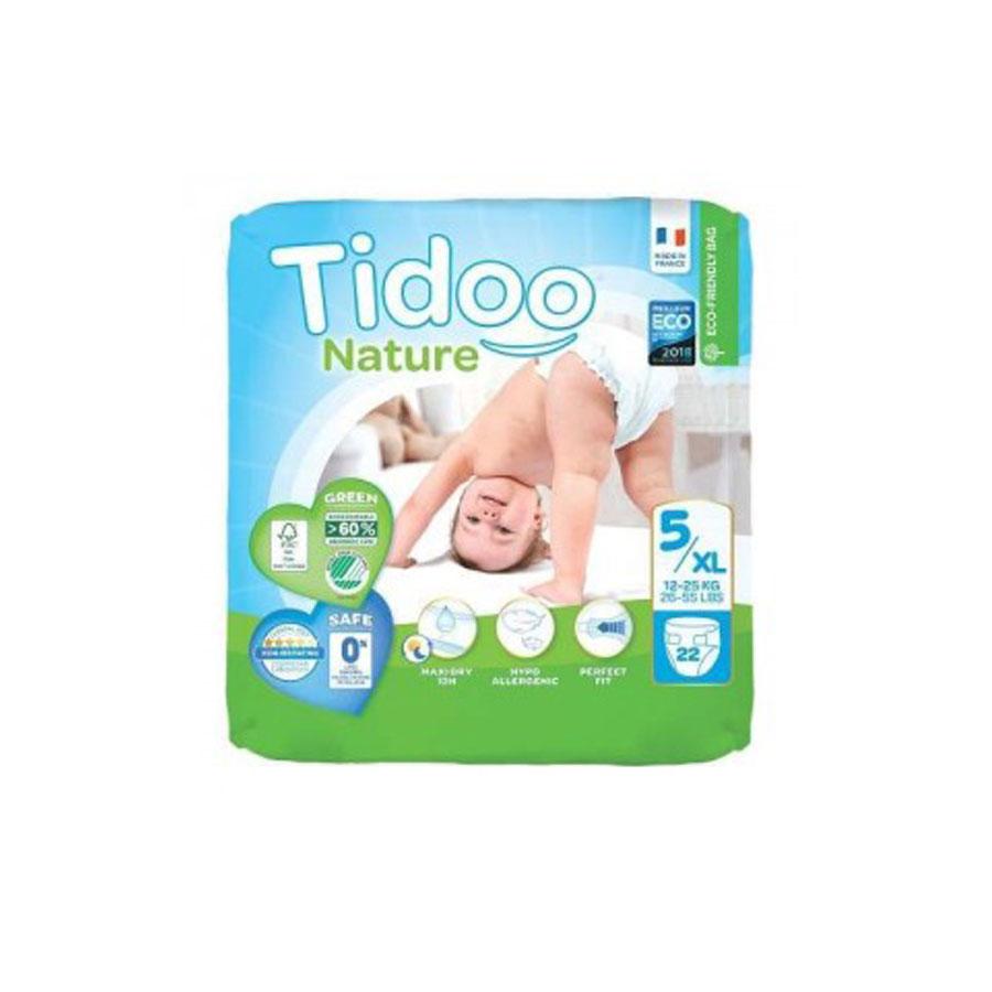 Tidoo Nature New Born Diapers 5/Xl 12-25Kg 22'S