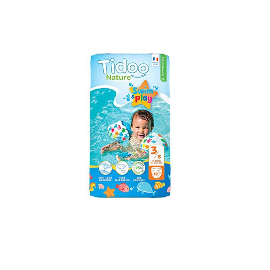 Tidoo Nature Swim Play 3/S 4-9Kg 12'S