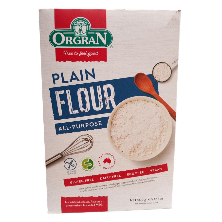 Orgran G/F All Purpose Plain Flour 500Gm