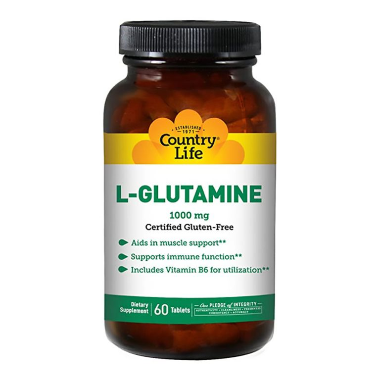 COUNTRY-LIFE-L-GLUTAMINE-1000MG-60'S