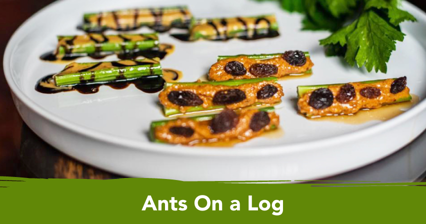 Ants on a Log - Healthy U
