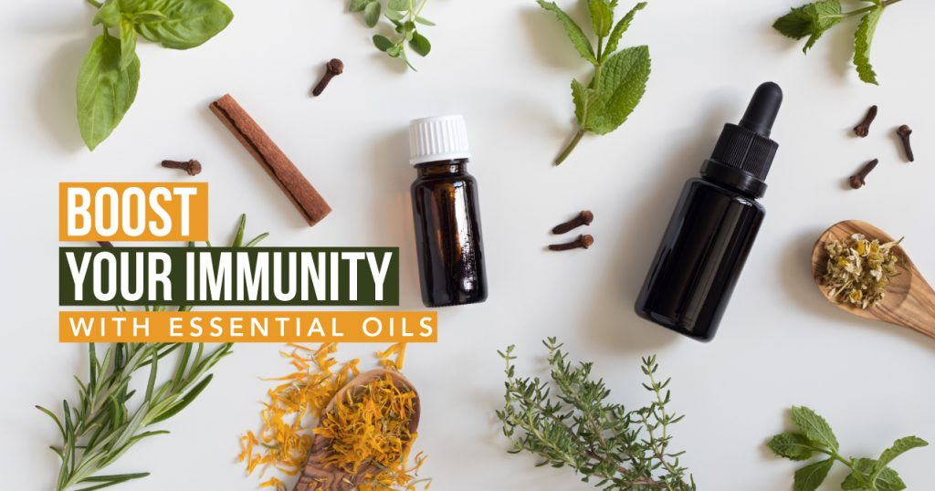 Boost your Immunity with Essential Oils