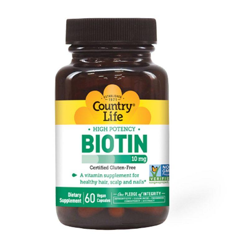 COUNTRY-LIFE-BIOTIN-10MG-60'S